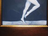 Картина на фарфоре подписная ( Фарфор Лимож ), фото №4