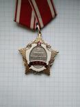 Орден за личное мужество, серебряная копия, фото №6