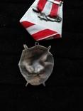 Орден боевого красного знамени, серебряная копия, фото №4