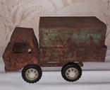 Большая железная машина ГРУЗОВИК с тентом Запорожсталь Запорожье СССР 60-70-е годы, фото №3