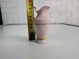 Кувшин из розового фарфора. Чехия, фото №5