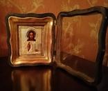 Икона Господь Вседержитель, 19 век, оклад серебро 84 проба, фото №6