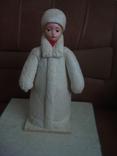 Снегурочка вата папье маше 1970г. 34см., фото №2