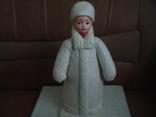Снегурочка вата папье маше 1970г. 34см., фото №3