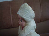 Снегурочка вата папье маше 1970г. 34см., фото №6