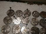 Механизмы или части механизмов к наручным часам, в основном ЗИМ, фото №3