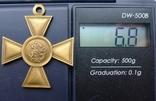Георгиевский крест 3 степ. Б. М. Копия., фото №11