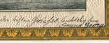 Германская Империя. Крейсер НИОБЕ. Золотое тиснение, фото №5