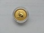 15 долларов. Золото. 1\10 унции, Австралия, 1999, год Кролика, фото №2