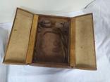 Винтажный кожаный чемоданчик. 29х21х23см, фото №10