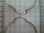 Серебряные Серьги Сережки Кольцо Алмазная Грань 925 проба Серебро 010 фото 3
