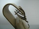 Серебряные Серьги Сережки Английская Застежка 925 проба Серебро 068 фото 4
