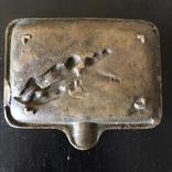 Пепельница Катание на санях., фото №8