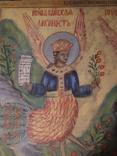 """""""Райські птахи"""", ікона у народному стилі, фото №4"""