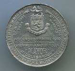 Британия. 1911. В память Коронации Короля Георга V и Королевы Мэри. д=35мм, фото №3
