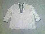 Вышитая мужская рубашка 40-50гг., фото №2