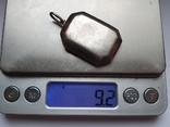 Кулон для фото. Серебро 925 проба., фото №7