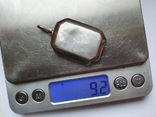 Кулон для фото. Серебро 925 проба., фото №8