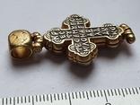 Крестик нательный. Серебро 925., фото №4