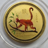 50 долларов 2004 г. Австралия (1/2 oz 999,9), фото №2