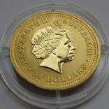 50 долларов 2004 г. Австралия (1/2 oz 999,9), фото №3