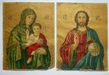 Икона, австрийская литография, 2 штуки, большие., фото №3