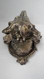 Пепельница Голова собаки. Бронза., фото №7