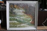 """Наталья Юзефович """"Перший сніг"""" 1978 г. 86/81 см., фото №2"""