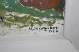 """Наталья Юзефович """"Перший сніг"""" 1978 г. 86/81 см., фото №6"""