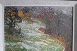 """Наталья Юзефович """"Перший сніг"""" 1978 г. 86/81 см., фото №12"""
