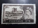 Великобритания. 1955 г. Королева. Замки.  MH, фото №2