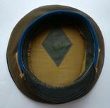 Парадная фуражка КГБ с латунной кокардой 55 размер, фото №4