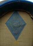 Парадная фуражка КГБ с латунной кокардой 55 размер, фото №5