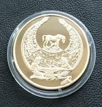 100 гривень 2003 року. Пектораль. Золото 31,1 грам. Банківський стан, фото №4
