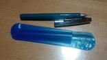 Ручка автоматическая, перьевая, новая, в родном чехле, фото №2