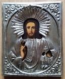 Ікона Ісус, латунь, 18,0х15,0 см, фото №2