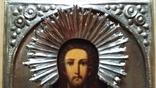 Ікона Ісус, латунь, 18,0х15,0 см, фото №5