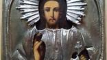 Ікона Ісус, латунь, 18,0х15,0 см, фото №6