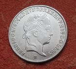 20 крейцеров 1845 г. Венгрия, серебро, фото №9