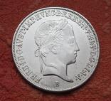 20 крейцеров 1845 г. Венгрия, серебро, фото №10