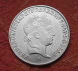20 крейцеров 1845 г. Венгрия, серебро, фото №11