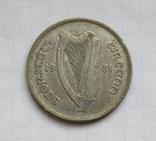 1 флорин 1931 г. Ирландия, серебро, фото №6