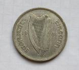 1 флорин 1931 г. Ирландия, серебро, фото №8