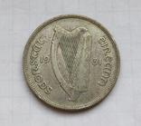1 флорин 1931 г. Ирландия, серебро, фото №9