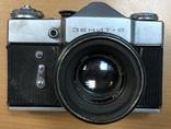 Фотоаппарат Зенит B, с объективом Гелиос 44-2, фото №2