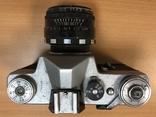 Фотоаппарат Зенит B, с объективом Гелиос 44-2, фото №5