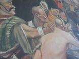 """Копія картини Репіна """"Козаки пишуть лист султанові"""", фото №5"""