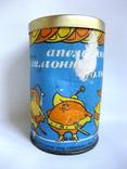 Коробочка от мармелада Апельсиновые лимонные дольки. СССР - гост 1969г., фото №3