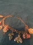 Accessorize браслет с подвесами. Маркированый., фото №2