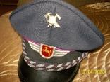 Фуражка  офицерская  пож.  полиции  Нижней  Саксонии.  Германия., фото №7